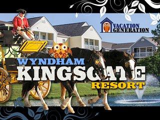 Wyndham Kingsgate Resort ツ 2BR/2BA Equipped Condo! - Williamsburg vacation rentals