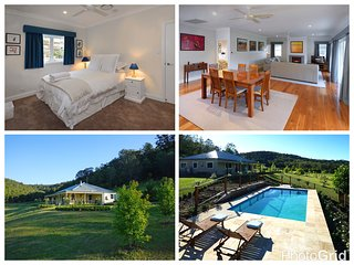 Gypsy Willows luxury house, pool and setting. - Wollombi vacation rentals