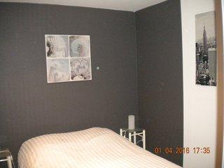 appartement situé au 1er étage de la Closerie des fleurs  capacite  3 personnes - Vittel vacation rentals