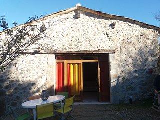 gite  la grange du vieux village Montmaur en Diois - Die vacation rentals