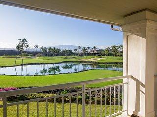 ★ Island Melody Villa ♥ Huge Views of Golf, Large Pond, Mountains ★ Bikes - Waikoloa vacation rentals