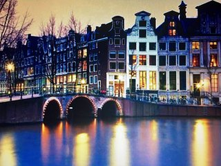 Luxury Penthouse with canal view + lift + bath - Amsterdam vacation rentals