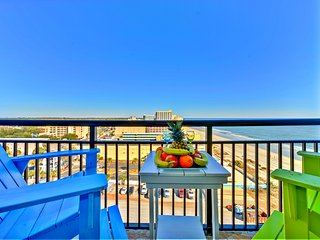 Top Oceanfront Resort/Wonderful Ocean Views/Updated/Netflix/Xbox1/2tvs/Sleeps 6 - Myrtle Beach vacation rentals