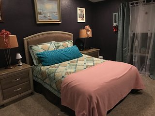 Queen bed, shared 1.5 bathroom. Internet access - Pahrump vacation rentals