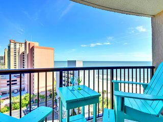"COMPASS COVE OCEANFRONT/HUGE BALCONY/60""TVXBOX1PET - Myrtle Beach vacation rentals"