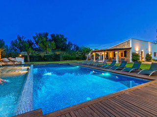 Villa with Spectacular Pool Area & Bar - Alcudia vacation rentals