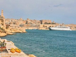 Fort St Angelo seaview - Birgu (Vittoriosa) vacation rentals