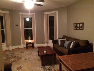 Private 1 bdrm large and charming apt in historic mansion, next to U of R - Rochester vacation rentals
