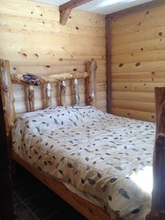 The cottage. Lakeside cottage with kitchen, living room and wood stove. - Panguitch Lake vacation rentals