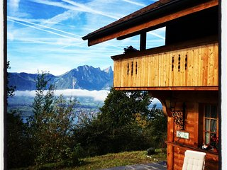 Authentic Swiss Chalet with Splendid Alps & Lake View - Sigriswil vacation rentals