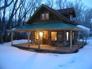 Historic Log Cabin on Creek, near Telluride - Ridgway vacation rentals