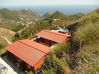 Idyllisch gelegenes Holzhaus mit traumhaften Meerblick  Casa Salamandra - Maro vacation rentals