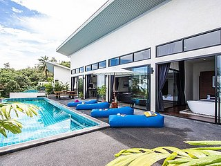 Paritta Sky Villa A | 2 Villas with 3 Beds each and Pool in Koh Samui - Laem Set vacation rentals