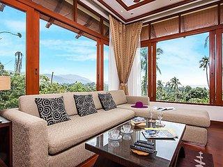 Pailin Garden Palace | 3 Bed Hillside Pool Villa in Koh Samui - Koh Samui vacation rentals