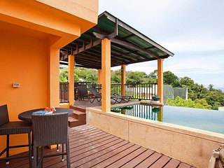 Hillside 3 bed sea view villa in Karon - Ban Khok Chang vacation rentals