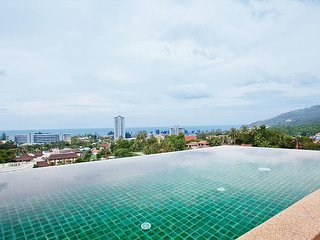 Villa Samoot Sawan | 3 Bed Hillside Pool Villa at Karon Beach West Phuket - Ban Khok Chang vacation rentals