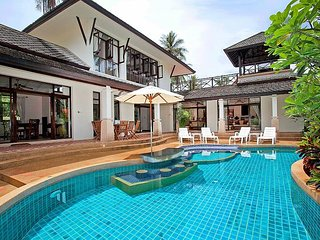 Bamboo Villa P9 | 4 Bed Pool House on Bang Po Beach in Koh Samui - Koh Samui vacation rentals