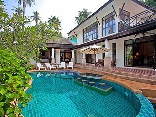 Bamboo Villa P11 | 3 Bed Beachside Pool Villa in Bang Po on Koh Samui - Ban Bang Makham vacation rentals