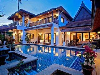 Baan Kep Tawan | 5 plus 1 Bed Pool Villa Near Laem Set Beach Koh Samui - Laem Set vacation rentals