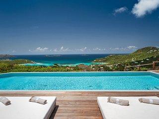 Exotic Ocean View Luxury Villa in St Jean with Breathtaking Views - Saint Jean vacation rentals