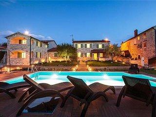7 bedroom Villa in Baldasi, Istria, Croatia : ref 2374977 - Vizinada vacation rentals