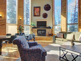 Secluded, dog-friendly cabin located in the center of town - Brian Head vacation rentals