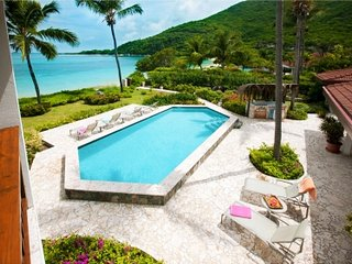 Amazing 6 Bedroom Villa on Mahoe Bay - Virgin Gorda vacation rentals