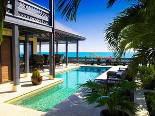 Exquisite 5 Bedroom Oceanfront Villa with Pool in Providenciales - Providenciales vacation rentals