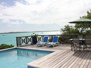 Charming 3 Bedroom Oceanfront House with Pool on Chalk Sound - Chalk Sound vacation rentals