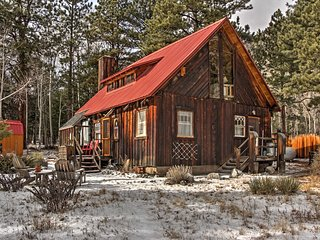 New! Charming 4BR Nathrop Cabin on 1 Acre of Land! - Nathrop vacation rentals