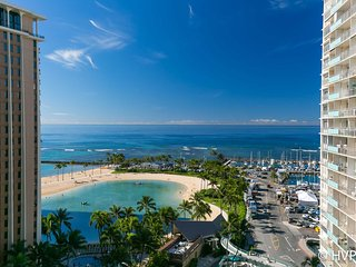 Ilikai 1418 2 Bed Room Luxury Remodel Ocean / Lagoon / Fireworks Views - Honolulu vacation rentals