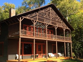Historic Lady Tree Lodge on Upper Saranac Lake - Lake Placid vacation rentals