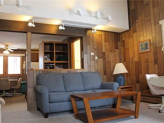 Located at Base of Powderhorn Mtn in the Western Upper Peninsula, A Comfortable Trailside Condo with a Shared Hot Tub & Allows Dogs - Bessemer vacation rentals