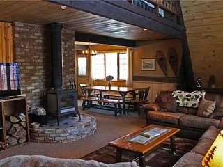 Located at Base of Powderhorn Mtn in the Western Upper Peninsula, A Trailside Home with Large Cozy Living Room - Bessemer vacation rentals
