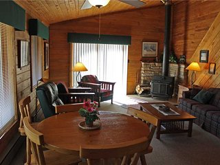 Located at Base of Powderhorn Mtn in the Western Upper Peninsula, Duplex Home with Beautiful Free-Standing Fireplace and Half Block from Main Ski Lodge - Ironwood vacation rentals