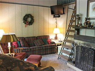 Located at Base of Powderhorn Mtn in the Western Upper Peninsula, A Duplex 1-Block from the Main Ski Lodge with Cozy Furnishings & Allows Dogs - Ironwood vacation rentals