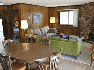 Located at Base of Powderhorn Mtn in the Western Upper Peninsula, A Quadruplex Rental Across the Street from the Main Ski Lodge - Ironwood vacation rentals