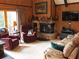 Located at Base of Powderhorn Mtn in the Western Upper Peninsula, Intimate & Cozy Home in Wooded Setting with Outdoor Hot Tub - Ironwood vacation rentals