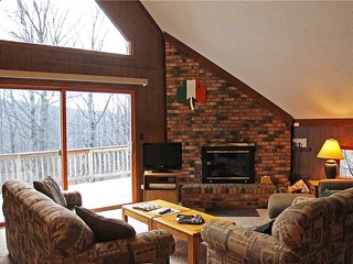 Located at Base of Powderhorn Mtn in the Western Upper Peninsula, A Cozy Vacation Home with a Beautiful Nature View - Ironwood vacation rentals