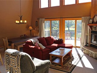 Located at Base of Powderhorn Mtn in the Western Upper Peninsula, Vacation Home with All Glass Front Windows & Gorgeous View of Ski Hill - Ironwood vacation rentals