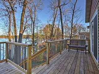 2BR Chetek House on Beautiful Prairie Lake! - Chetek vacation rentals