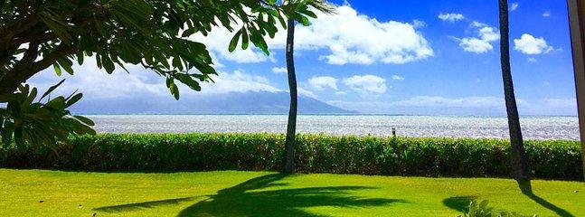view from lanai - Wavecrest A108 - Kaunakakai - rentals