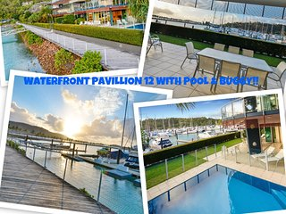 Pavillions 12 - Waterfront Spacious 4 Bedroom With Own Inground Pool And Golf - Hamilton Island vacation rentals