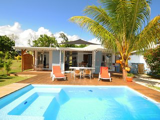 "Chalet Cardinal, villa for 1 - 4 ""on the sand"", with pool - Riambel vacation rentals"