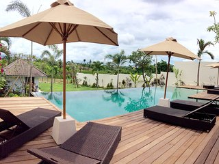 Luxury deluxe 6BR villa full view canggu - Canggu vacation rentals