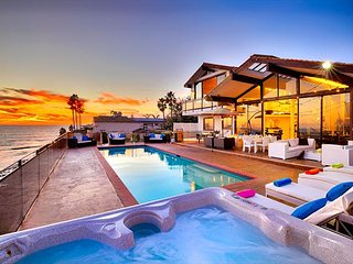 Magnificent Oceanfront Home with private pool and spa - La Jolla vacation rentals