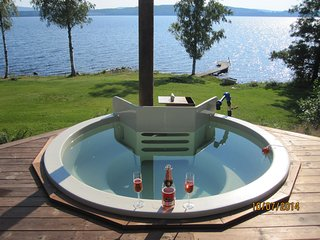 Nice House with Deck and Hot Tub - Vastra Amtervik vacation rentals