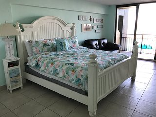 Amazing Renovated Ocean Front Studio!! After Feb 22 will have 2 Queen size beds! - Daytona Beach vacation rentals