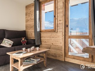 Val Thorens Nazca C8, modern apartment rental, track access, 10 pers. - Val Thorens vacation rentals