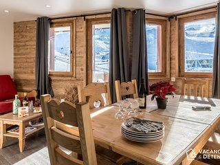 Val Thorens, Nazca D4, luxury rental, convivial, comfortable, 13 per - Val Thorens vacation rentals